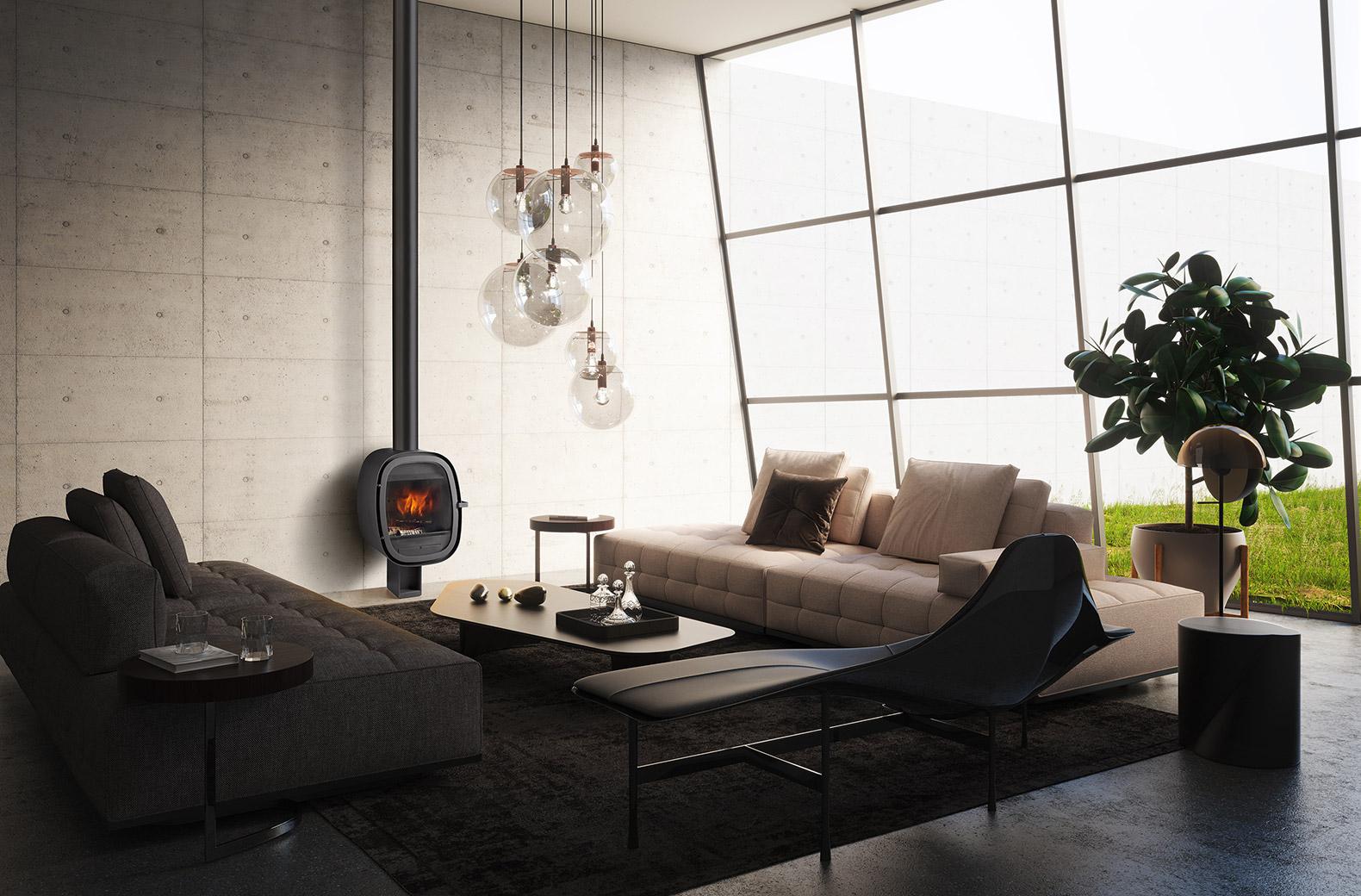 El confort del fuego en Interiorismo y Decoración