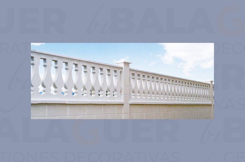 Balaustre Mallorca Blanco