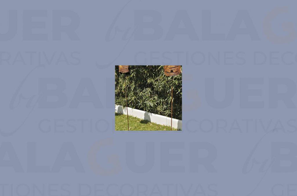 Bordillo Castellon blanco