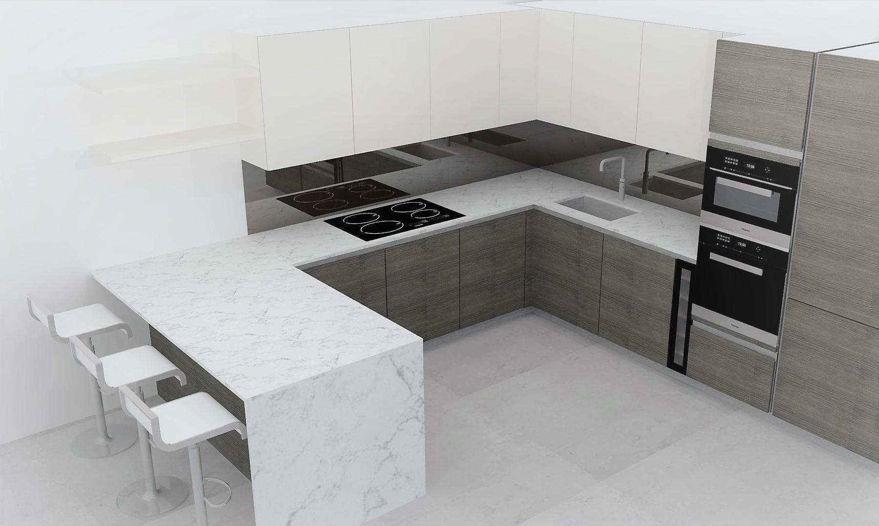 Diseño de cocinas en el departamento de cocinas de ByBalguer