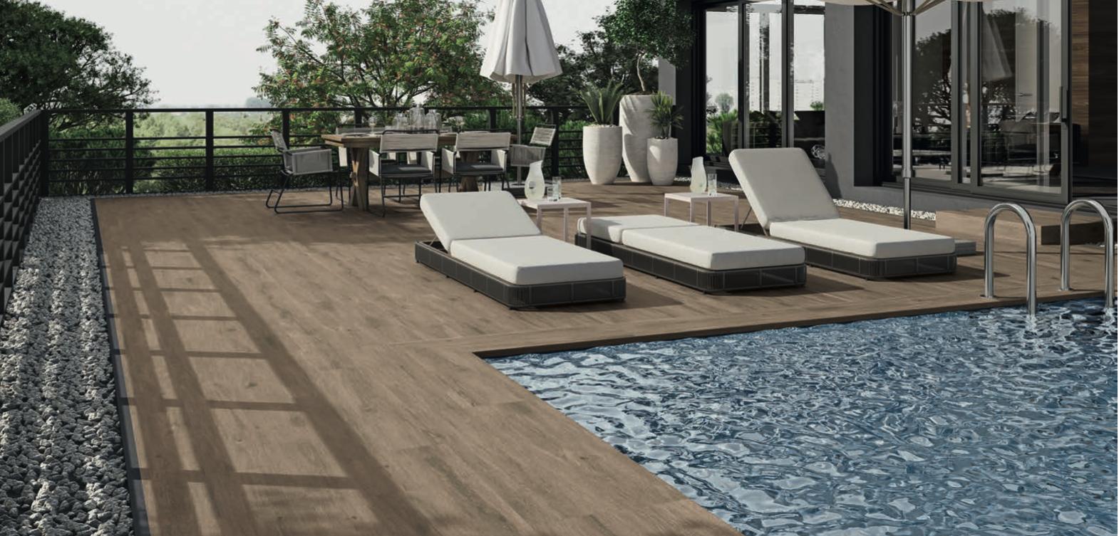 Materiales para piscinas de diseño