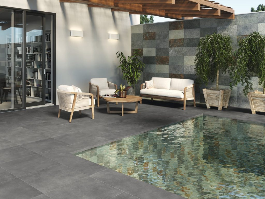 Revestimiento Green Stone para piscinas